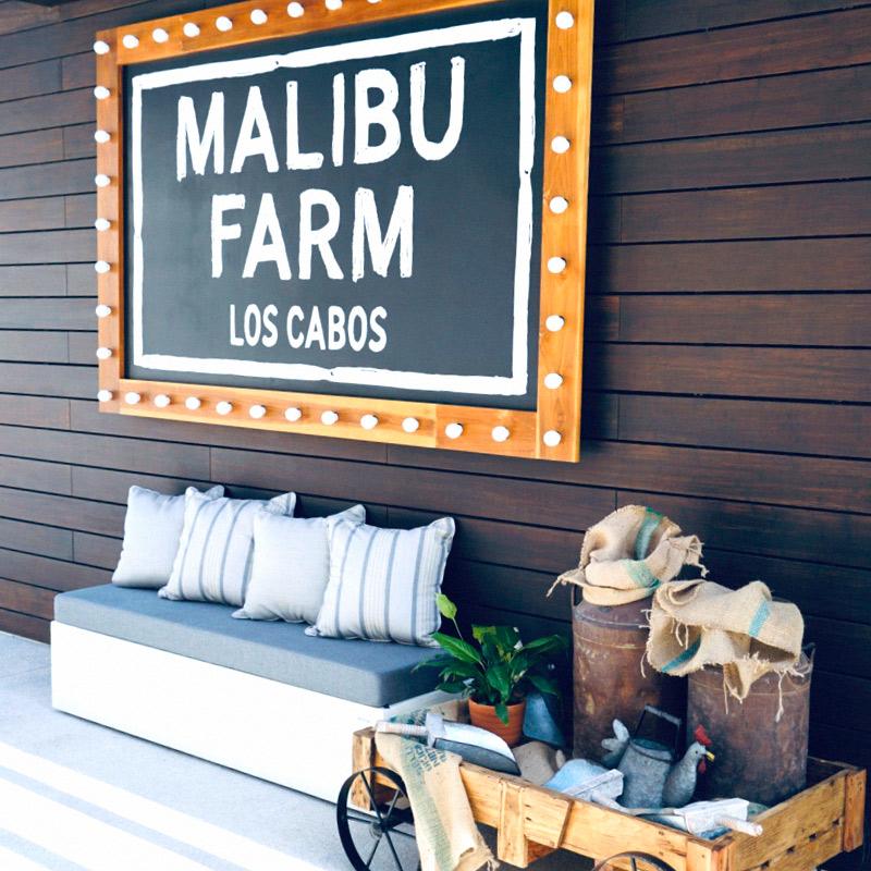 Malibu Farm Facade
