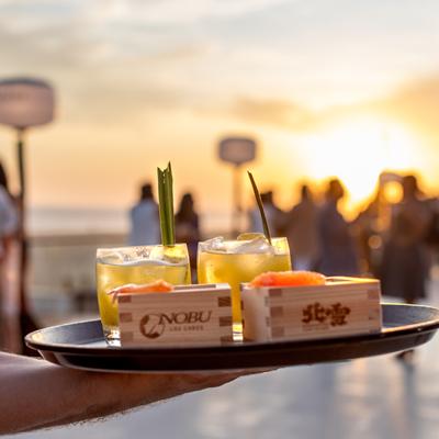 Drinks at Kanpai Sunsets