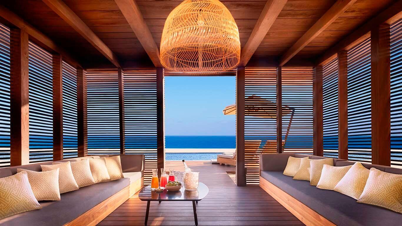 Pool Cabana | Nobu Hotel Los Cabos