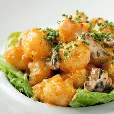 Rock Shrimp Creamy Spicy