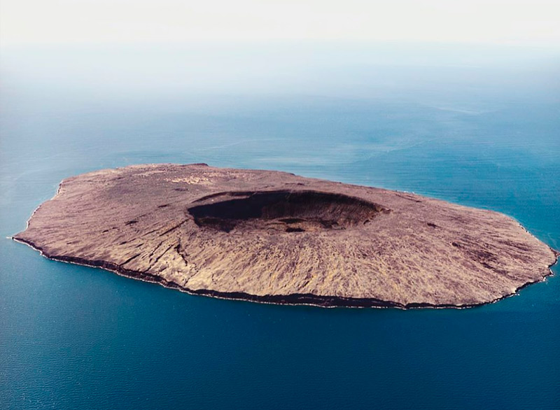 Tortuga Island in Baja California Sur