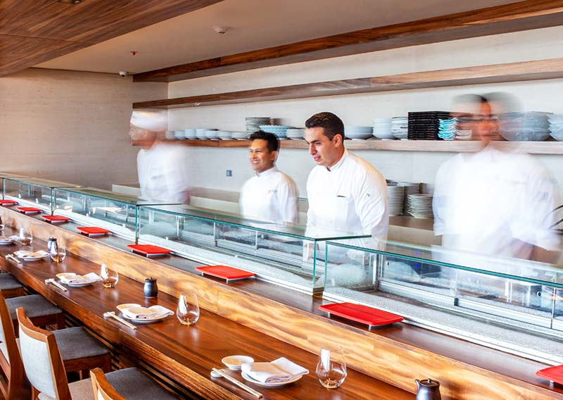 Nobu Los Cabos Restaurant Staff