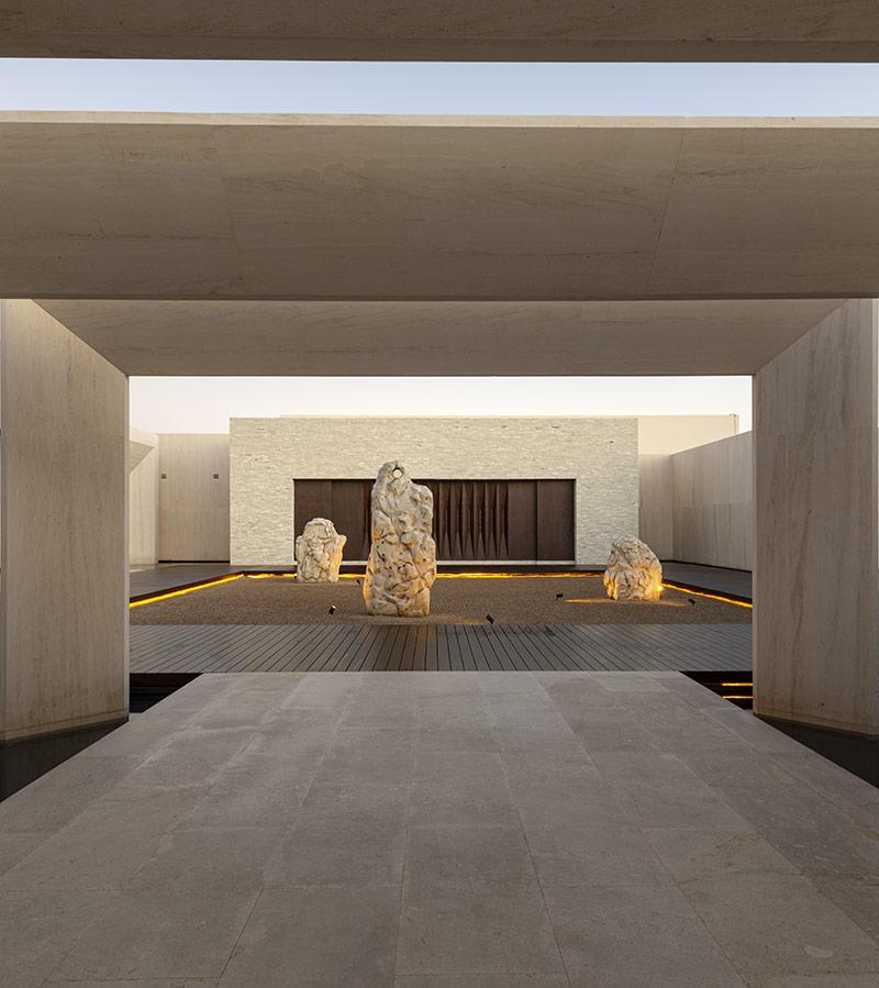 Lobby Nobu Los Cabos