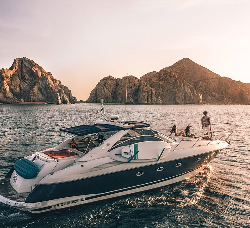 Yacht Tour The Arch Los Cabos